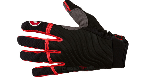 Castelli CW 6.0 Cross Gloves Men black/red